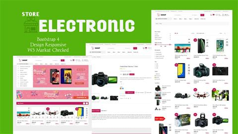 StoreElectronic - Clean & Responsive Theme Bootstrap 4